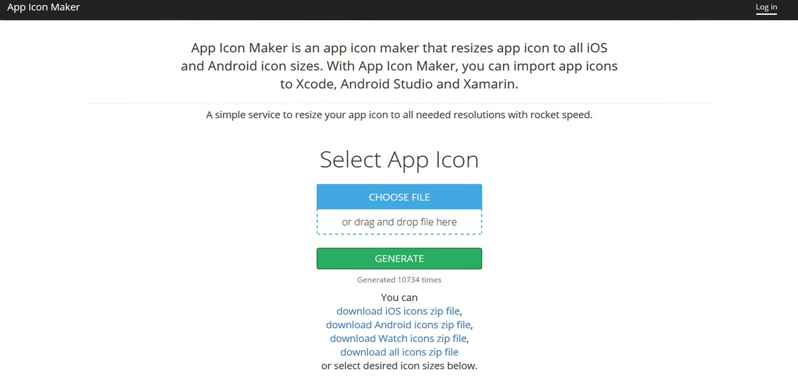 Creating app icons for IOS and Android